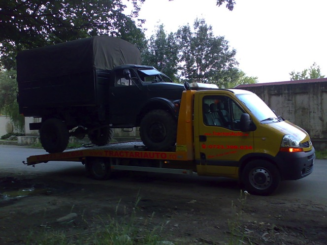 Tractari camioane si transport camioane