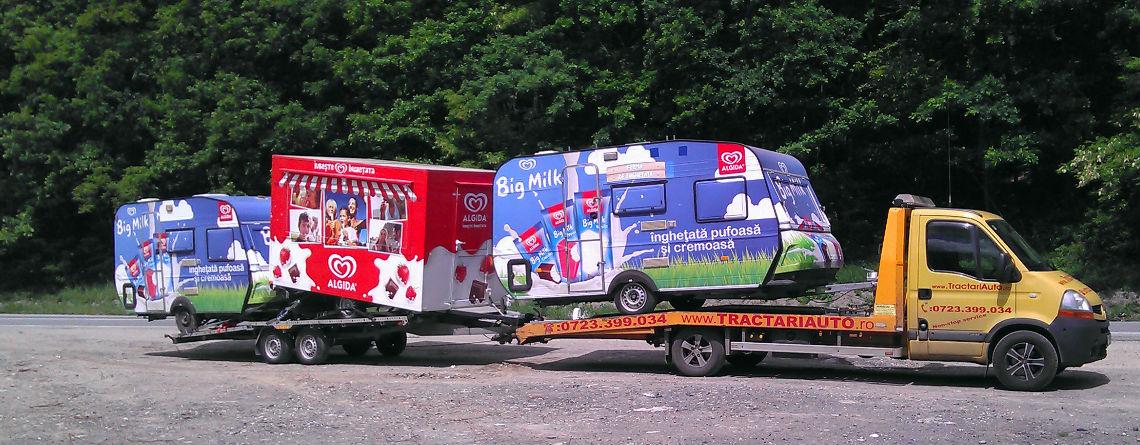 Tractari auto si transport: ce zone acoperim
