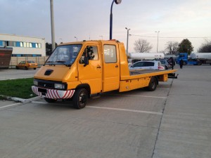 Renault Messenger - tractari auto Ciolpani