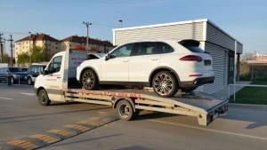 Tractari auto Porsche