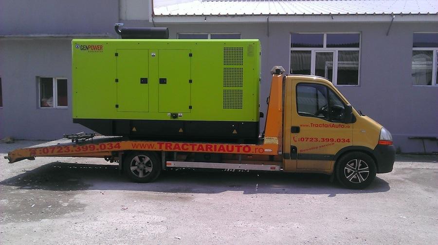Transport generatoare de curent
