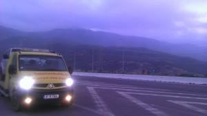 Tractari auto cu macara DN1