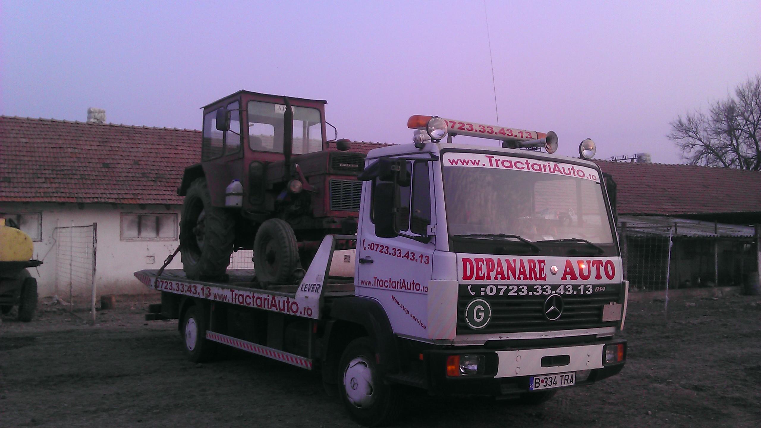 Reduceri la tractari tractoare si transport utilaje agricole