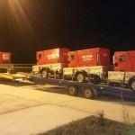Transport generatoare curent