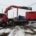 Autospeciala tractari Scania macara 2